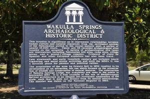 Wakulla-Springs-Schild