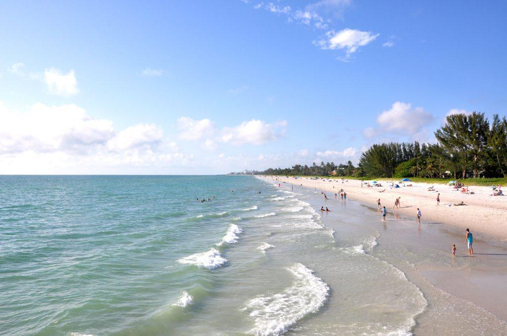 Blick auf die Paradise Coast bei Naples - Tipps Küsten Floridas