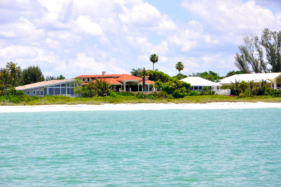 Landschaft Floridas Küste