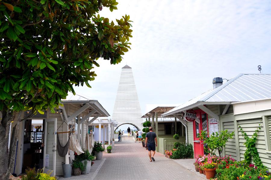 Seaside - ehemaliger Drehort mit Charme an der Emerald Coast