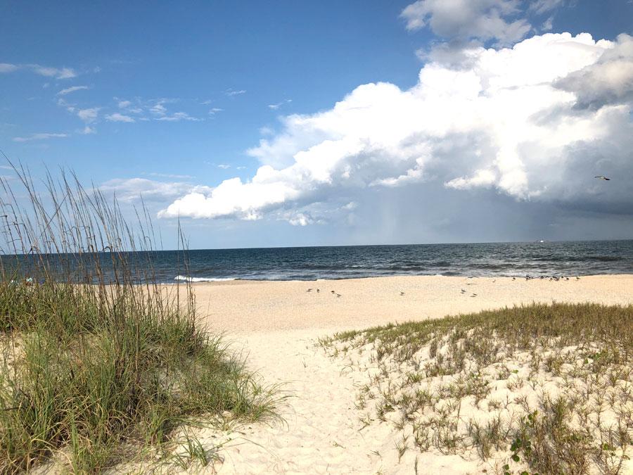 Blick auf den Main Beach von Amelia Island